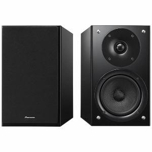 パイオニア S-HM86-LR-B 【ハイレゾ音源対応】ブックシェルフ型スピーカー(ペア) ブラック