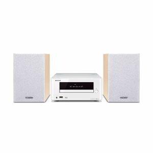 オンキヨー X-U6-W Bluetooth対応CDレシーバーシステム(ホワイト)