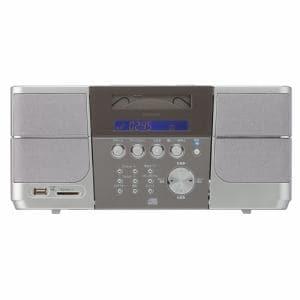 コイズミ SDD4340 ステレオCDシステム (シルバー)