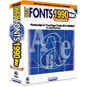 マーキュリー・ソフトウェア・ジャパン KeyFonts 1990 Mac