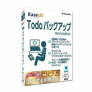 イーフロンティア EaseUS Todo バックアップ Workstation EUBU10W111