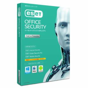 キヤノンITソリューションズ ESET オフィス セキュリティ 1PC+1モバイル CITS-ES10-009