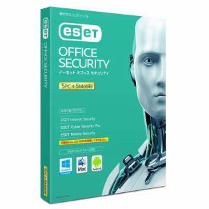 キヤノンITソリューションズ ESET オフィス セキュリティ 5PC+5モバイル CITS-ES10-010
