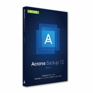 Acronis Asia Acronis Backup 12 Server License incl. AAS BOX B1WYBSJPS91