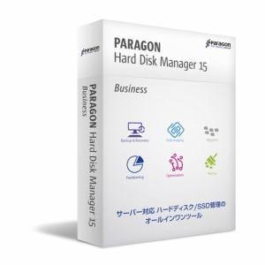パラゴンソフトウェア Paragon Hard Disk Manager 15 Bus シングルL(メディアキット込)