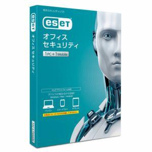 キヤノンITソリューションズ ESET オフィス セキュリティ 1PC+1モバイル CMJ-ES12-007
