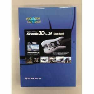 Shade3D Shade3D Standard Ver.20 1年版 店頭販売パッケージ UHFNSNN00PKG