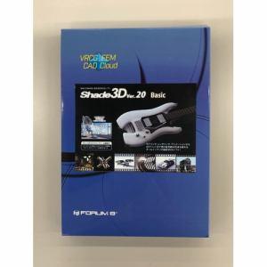Shade3D Shade3D Basic Ver.20 1年版 店頭販売パッケージ UHGNSNN00PKG