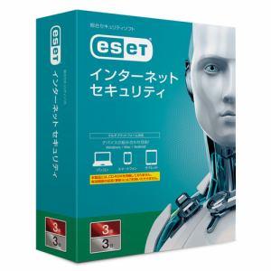キヤノンITソリューションズ ESET インターネット セキュリティ 3台3年 CMJ-ES12-004