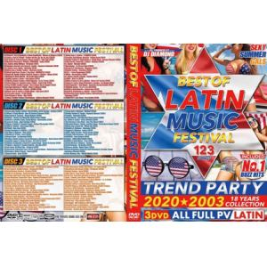 【DVD】BEST OF LATIN MUSIC FESTIVAL / DJ DIAMOND