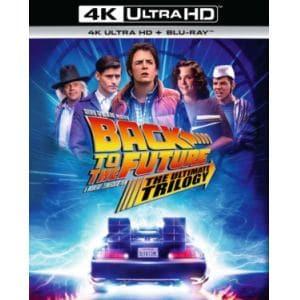 【4K ULTRA HD】バック・トゥ・ザ・フューチャー トリロジー 35th アニバーサリー・エディション 4K Ultra HD + ブルーレイ