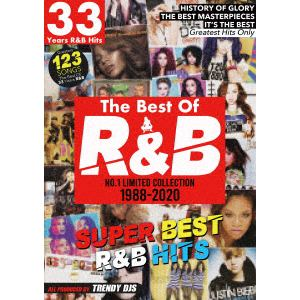 【DVD】THE BEST OF R&B 1988-2020