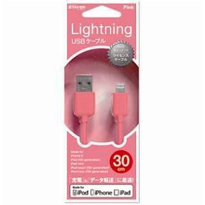 ステイヤー ST-CAPLPK iPod&iPhone ライトニングケーブル ピンク