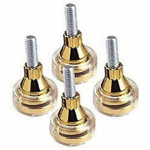 SOUNDCARE インシュレーター ネジ込タイプ (4個1組) SS8 GOLD