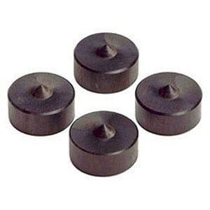 山本音響工芸 PB-9 (アフリカ黒檀製ピン型ベース/4個一組)