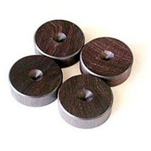 山本音響工芸 PB-21 (アフリカ黒檀製スパイク受けベース/4個一組)