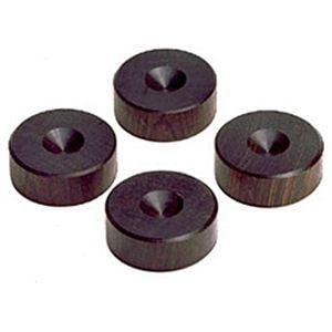 山本音響工芸 PB-10 アフリカ黒檀製スパイク受けベース 4個一組