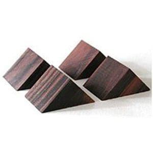山本音響工芸 PB-22 (黒檀製三角ベース/4個一組)
