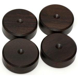 山本音響工芸 PB23 インシュレーター アフリカ黒檀製 スパイク受けベース (4個1組)