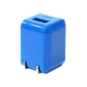 ラディウス iPhone / iPod 充電器 1.0A ブルー AL-ADA31C