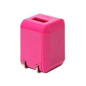 ラディウス iPhone / iPod 充電器 1.0A ピンク AL-ADA31P