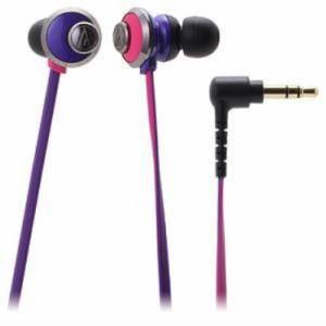 Audio-Technica インナーイヤーヘッドホン ATH-CKF77 PPL