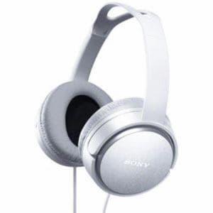 SONY ステレオヘッドホン MDR-XD150(W)