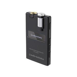 オーディオテクニカ ワイヤレスヘッドホンアンプ ブラック AT-PHA50BT-BK