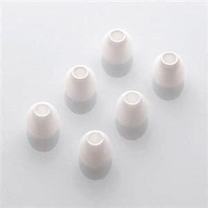 エレコム スペアイヤーキャップ ホワイト XSサイズ 6個入 EHP-CAP20XSWH