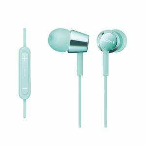 ソニー MDR-EX150IP-L iPod/iPhone/iPad対応ダイナミック密閉型 インナーイヤーイヤホン (ミントブルー)