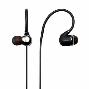 エレコム LBT-HPC50AVBK Bluetoothワイヤレスステレオイヤホン ブラック