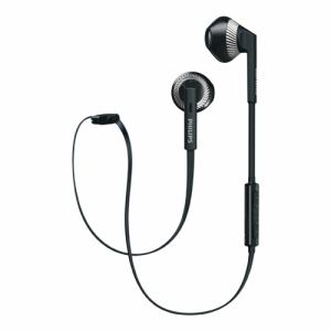 フィリップス SHB5250BK Bluetooth対応オープン型イヤホン(ブラック)