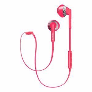 フィリップス SHB5250PK Bluetooth対応オープン型イヤホン(ピンク)