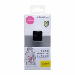 エレコム LBT-PAR01AVBK Bluetoothレシーバー ブラック