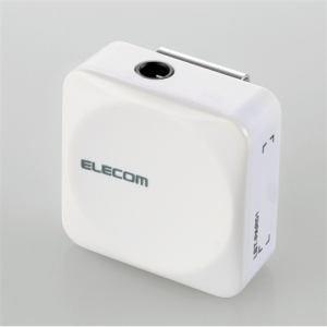 エレコム LBT-PAR01AVWH Bluetoothレシーバー ホワイト