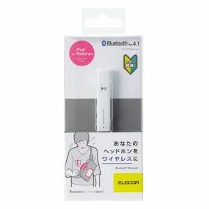 エレコム LBT-PAR02AVWH マイク搭載Bluetoothレシーバー ホワイト