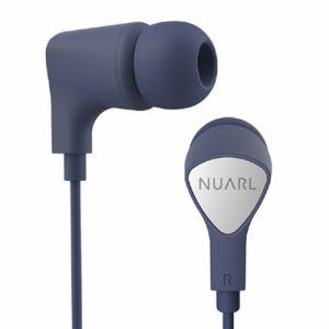 NUARL(ヌアール) NE1000NV カナル型ステレオイヤフォン スタンダードモデル ネイビー