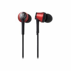 オーディオテクニカ ATH-CKR55BT-RD Bluetooth対応ワイヤレスヘッドホン メタリックレッド