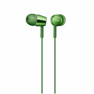 ソニー MDR-EX155-G ダイナミック密閉型カナルイヤホン グリーン
