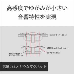 ソニー MDR-EX255AP-B マイク&コントローラー搭載 ダイナミック密閉型カナルイヤホン ブラック