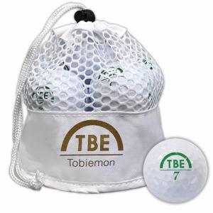 リーダーメディアテクノ TBM-2MBW ゴルフボール 飛衛門 12球 ホワイト