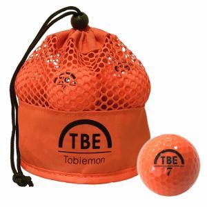 リーダーメディアテクノ TBM-2MBO ゴルフボール 飛衛門 12球 オレンジ