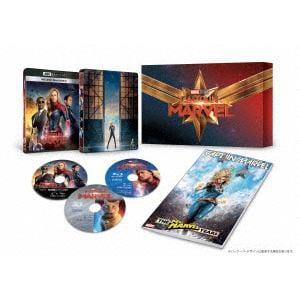 【4K ULTRA HD】 キャプテン・マーベル 4K UHD MovieNEXプレミアムBOX(数量限定)(4K ULTRA HD+3Dブルーレイ+ブルーレイ)