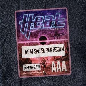 【DVD】H.E.A.T / ライヴ・アット・スウェーデン・ロック・フェスティヴァル