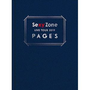 【DVD】Sexy Zone / Sexy Zone LIVE TOUR 2019 PAGES(初回限定盤)
