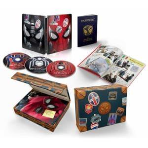 【4K ULTRA HD】スパイダーマン:ファー・フロム・ホーム 日本限定プレミアム・スチールブック・エディション(完全数量限定版)(4K ULTRA HD+3Dブルーレイ+ブルーレイ)