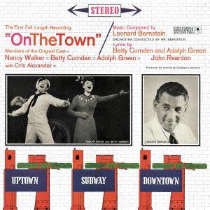 【CD】 バーンスタイン / ミュージカル「オン・ザ・タウン」スタジオ・キャスト・レコーディング