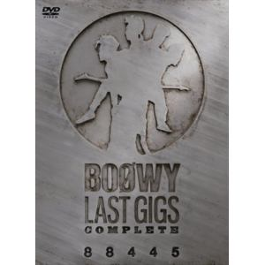 "【DVD】BOφWY(ボウイ) / ""LAST GIGS""COMPLETE"