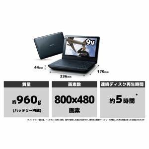 SONY ポータブルDVDプレーヤー DVP-FX980