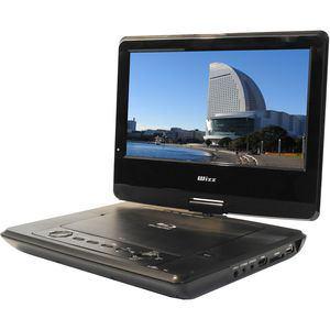 Wizz DB-PW1055X 10.1インチポータブルブルーレイディスク/DVDプレーヤー